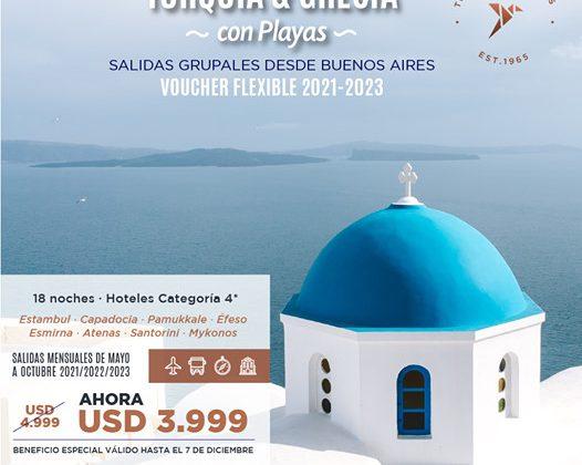 Turquia & Grecia con Playas