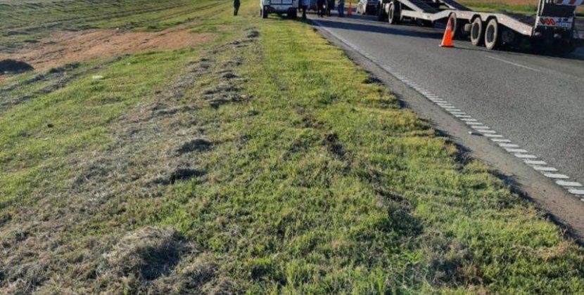 Se accidentó Mariano Werner cuando se dirigía rumbo al Autódromo Roberto José Mouras