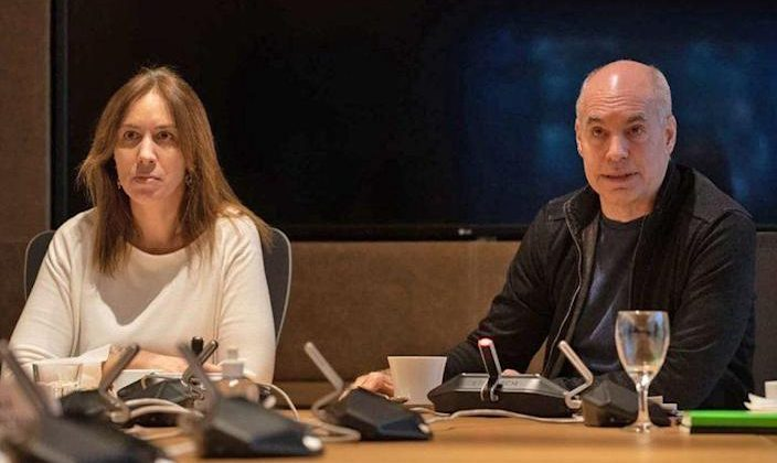 Porro en Palermo o en la villa: el pedido de Horacio Rodríguez Larreta tras el cruce entre María Eugenia Vidal y Axel Kicillof